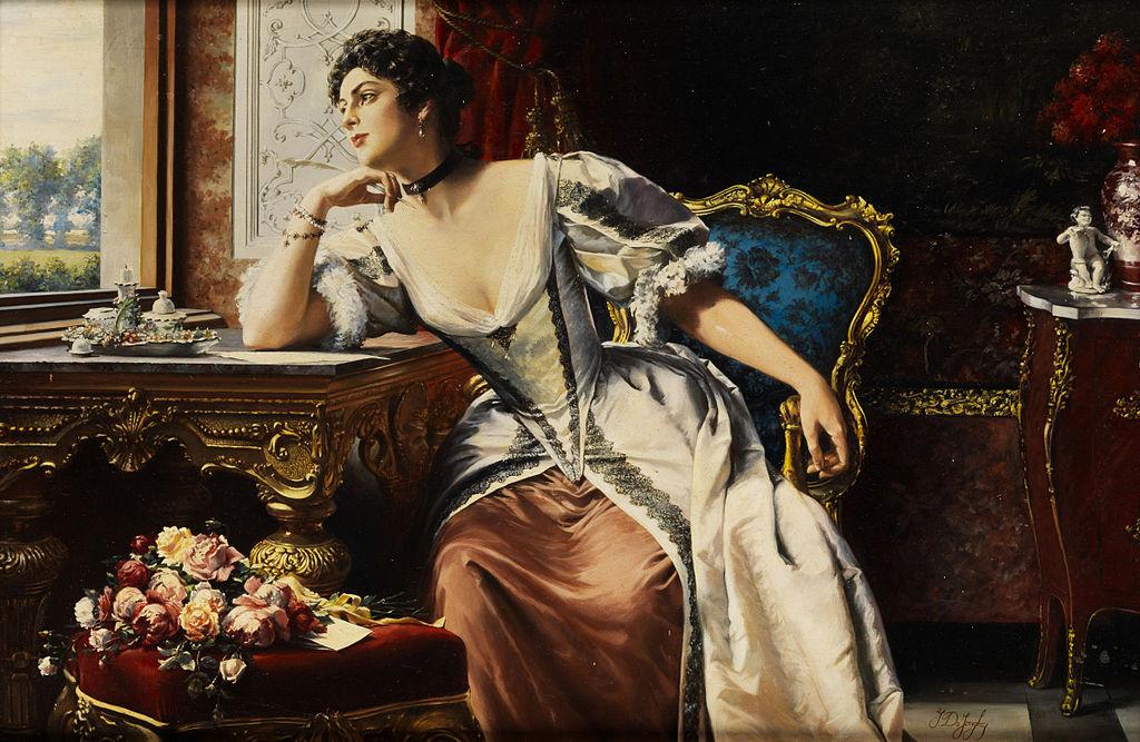 Gustave Léonard Dejonghe Gedanken beim Verfassen des Briefes