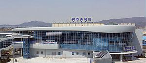 Gwangju Songjeong Station - Image: Gwangju Songjeong Station
