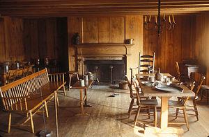 Historic Arkansas Museum - Interior of the Hinderliter House