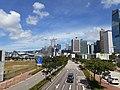 HK 中環 Central 海濱 Waterfront promenade 民耀街 Man Yiu Street 行人天橋 footbridge view July 2020 SS2 04.jpg