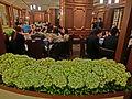 HK Central Pacific Place 北京樓 Peking Garden Restaurant June-2013 Lunch visitors.JPG