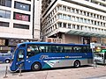 HK TST 尖沙咀 Tsim Sha Tsui 廣東道 Canton Road blue shuttle bus near 海港城 Harbour City 中心 Centre March 2020 SS2 07.jpg