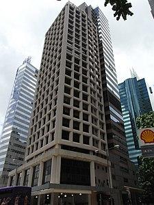 HK Wan Chai 軍器廠街 Arsenal Street 駱克道 1 Lockhart Road 中南大廈 Chung Nam Building facade July-2012.JPG