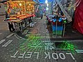 HK Yau Ma Tei night Shanghai Street 眾坊街夜市場 Public Square Street market stall Laser lighting Apr-2013.JPG