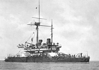 Turret ship - Image: HMS Thunderer (1872)