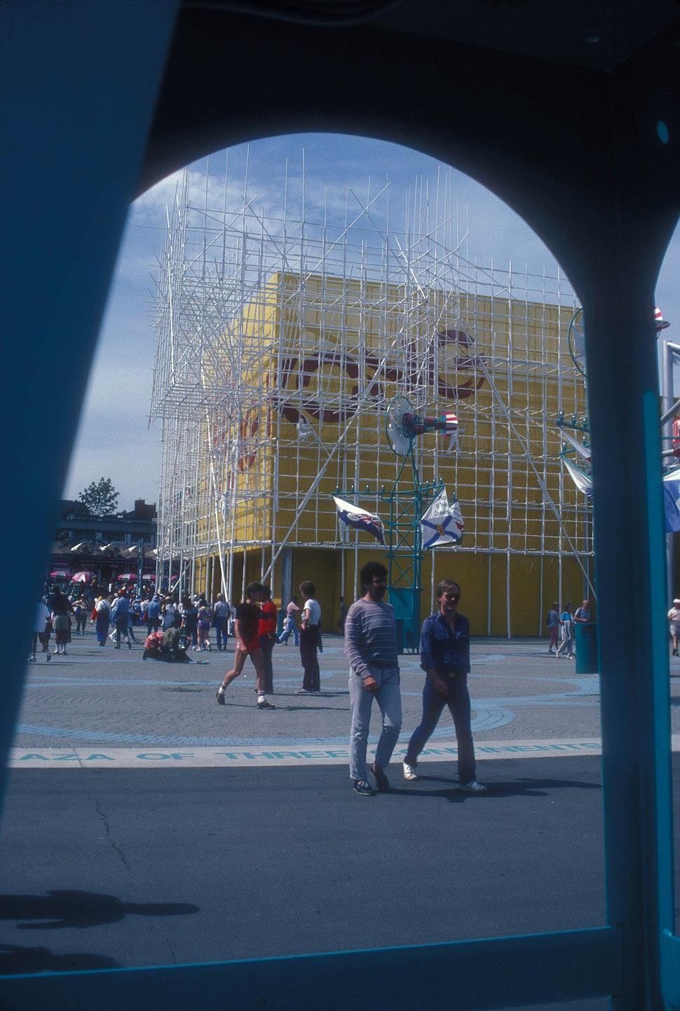 HONG KONG PAVILION AT EXPO 86, VANCOUVER, B.C.