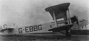 Handley Page Type W - Twin Eagle engined W.8b