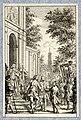 HUA-39533-Afbeelding van de ontvangst door een professor van de Utrechtse hogeschool van prins Willem IV als student te Utrecht.jpg