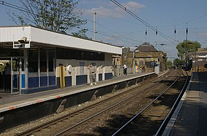 Hackney Central railway station - Image: Hackney Central railway station MMB 01