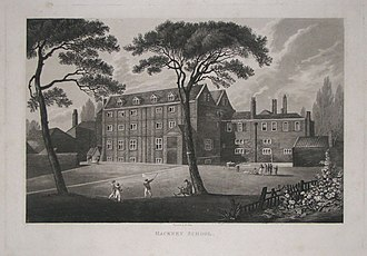 Augustus FitzRoy, 3rd Duke of Grafton - Euston was educated at Newcome's School (pictured)