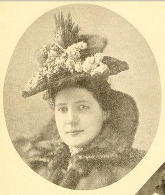 Arthur Pue Gorman - Haddie Gorman in 1895