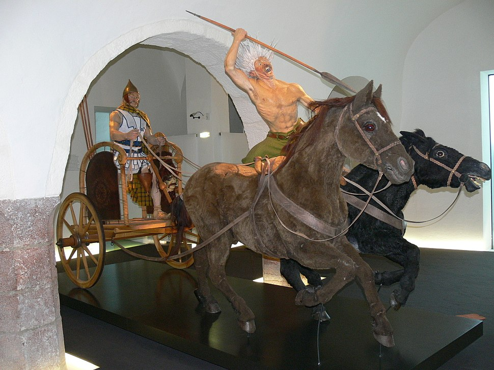 Hallein Keltenmuseum - Streitwagen 1