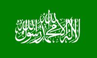 Флаг палестинского движения «Хамас»