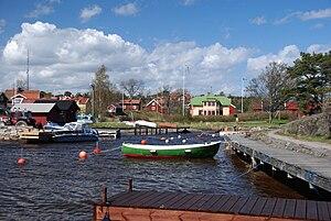 Hafen bei Löka auf Möja