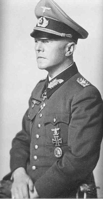 Battle of the Kerch Peninsula - Generalleutnant Hans Graf von Sponeck.