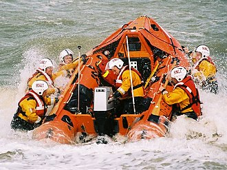 D-class lifeboat (IB1) - Image: Happisburgh IB1