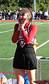 Happy Garnet Cheerleader October 2006.jpg
