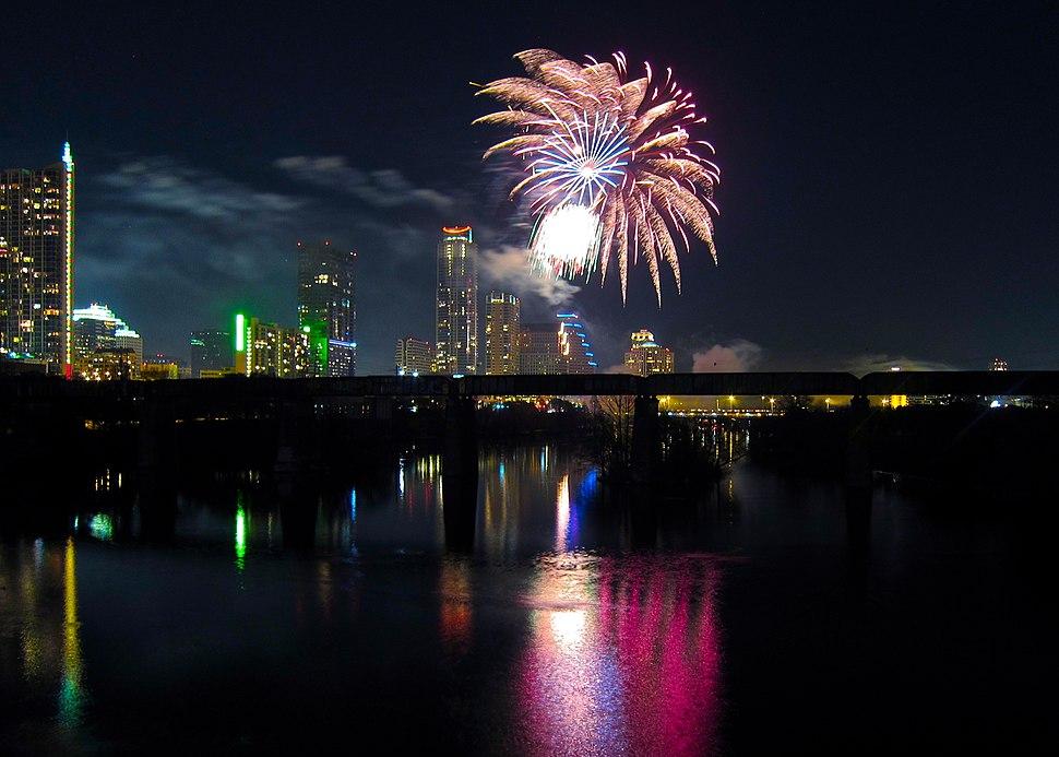 Happy new year Austin TX 2012