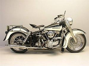 English: 1961 FLH Duo-Glide. Frysk: Harley-Dav...