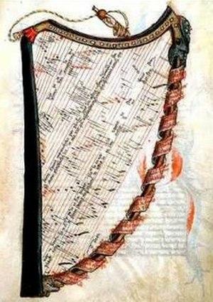 La harpe de melodie - Image: Harpe Jacob Senleches