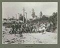 Harriman Alaska Expedition party on the beach at a deserted Tlingit Indian village, Cape Fox, Alaska, July 1899 (HARRIMAN 232).jpg