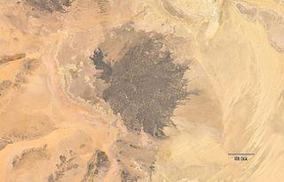 Haruj Libyan mountain range