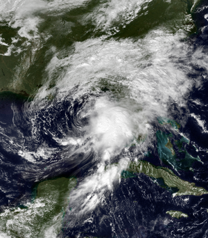Tropical Storm Harvey (1999) - Image: Harvey 09 20 1999 1740Z