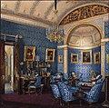 Hau. Interiors of the Winter Palace. The Boudoir of Grand Princess Maria Alexandrovna. 1850s.jpg