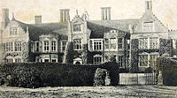 Photo Of Haughley Park In 1905
