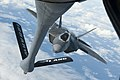 Hawaii Air National Guard F-22 Raptor aerial refueling.jpg