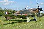 Hawker Hurricane I 'R4118 UP-W' (G-HUPW) (45142183601).jpg