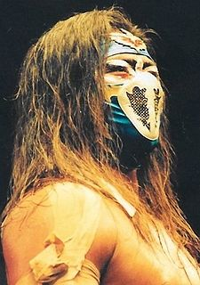 Hayabusa (wrestler) Japanese professional wrestler and promoter, stage actor and musician