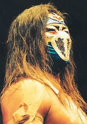 Hayabusa (wrestler) - Hayabusa in April 1999