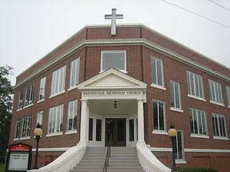 Haynesville, Louisiana - Image: Haynesville, LA, Methodist Church IMG 0887