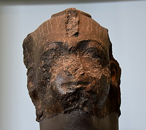 Thutmose IV - Head of a colossal statue of Thutmose IV, currently housed in the British Museum