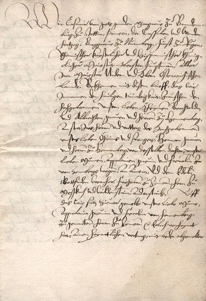 File:Heiratsbrief Gottfried Werner von Zimmern Apollonia von Henneberg 1521 img02.jpg
