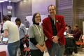 Helen Pankhurst and Roger Bamkin at the BBC 100 Women Wikipedia editathon.png