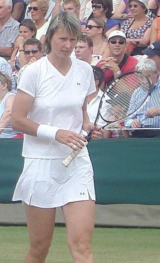 Helena Suková - Image: Helena Suková (Wimbledon 2009)