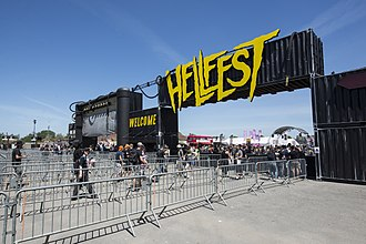 Hellfest (French music festival) - Image: Hellfest 2017 01
