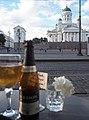 Helsinki Cathedral on 18th July 2016 Café Engel 4.jpg
