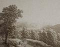Henri Boug d'Orschwiller-Paysage des Vosges avec ruines.jpg
