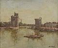 Henry Déziré, Le port de la Rochelle.jpg