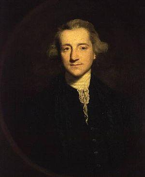 Henry Vansittart - Portrait, oil on canvas, of Henry Vansittart (1732–1770) by Sir Joshua Reynolds (1723–1792)