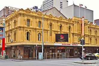 Exhibition Street, Melbourne - Her Majesty's Theatre, Exhibition Street