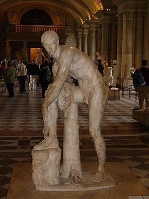 Hermes with the Sandal-Louvre