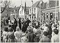 Heropening van het Gasthuisplein met folkloristische dansen. NL-HlmNHA 54005798.JPG