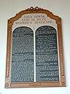 hervormde kerk meerkerk tekstbord zuidzijde
