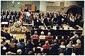 Het 35-jarig jubileum van de Amsterdam Staff Band van het Leger des Heils wordt gevierd met o.a. een jubileumdienst in de Oosterkerk. NL-HlmNHA 54036441.JPG