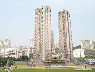 Public housing estates in Kwai Chung - Hibiscus Park