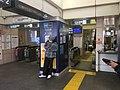 Hibiya line - Minamisenju Station ticket gates 2019 April 13 15 28 30 441000.jpeg